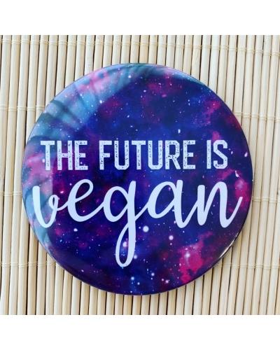 future is vegan magnet